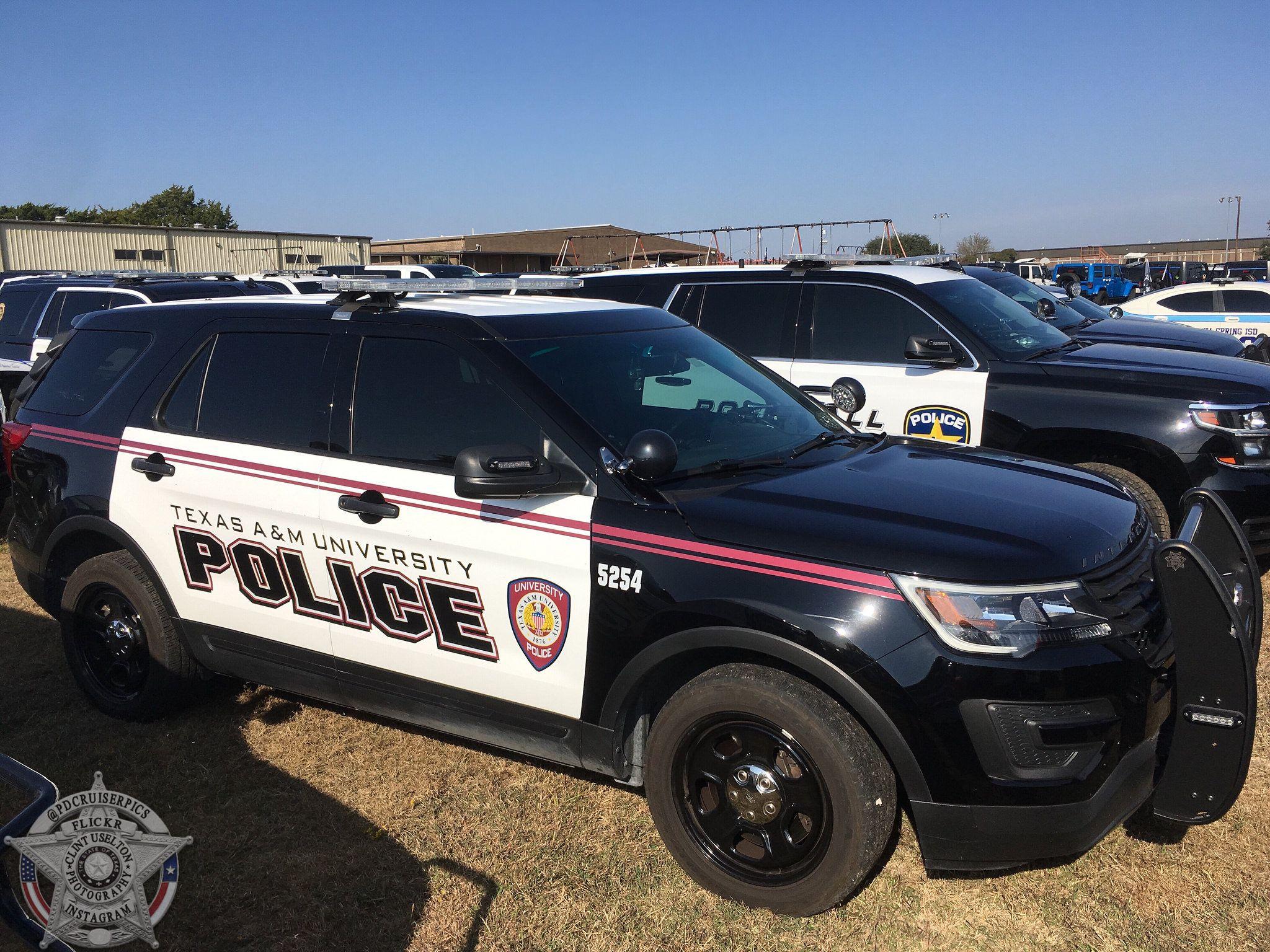 Texas A M University Police Police Cars Police Texas A M University