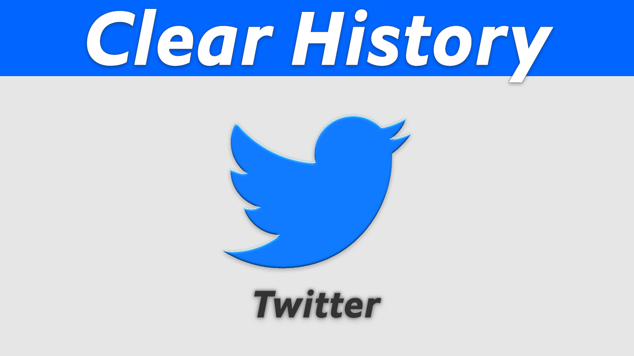 How To Clear Search History On Twitter App  Twitter app, Clear