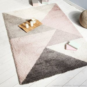 tapis 100 polypropyl ne motifs triangles scandinaves. Black Bedroom Furniture Sets. Home Design Ideas