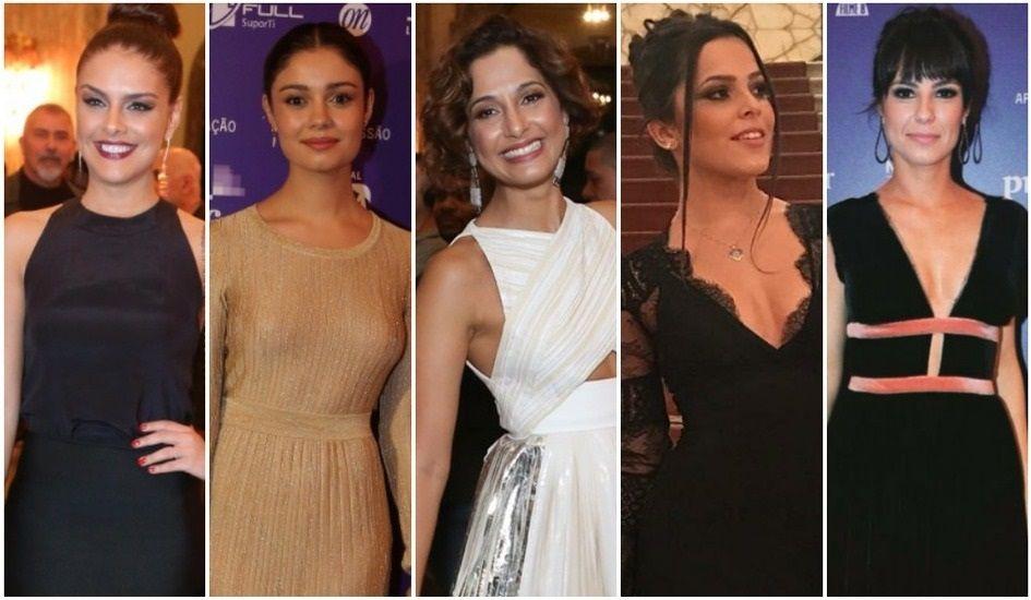 Confira os looks das famosas no Prêmio do Cinema Brasileiro