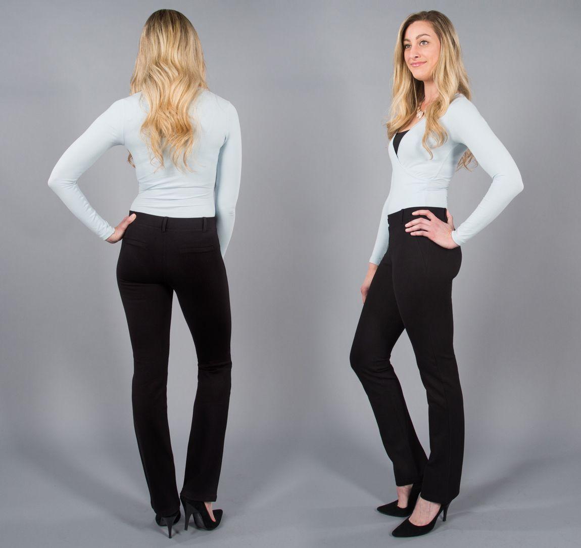 Straight Leg Classic Dress Pant Yoga Pants Black Dress Yoga Pants Black Dress Pants Pants [ 1084 x 1150 Pixel ]