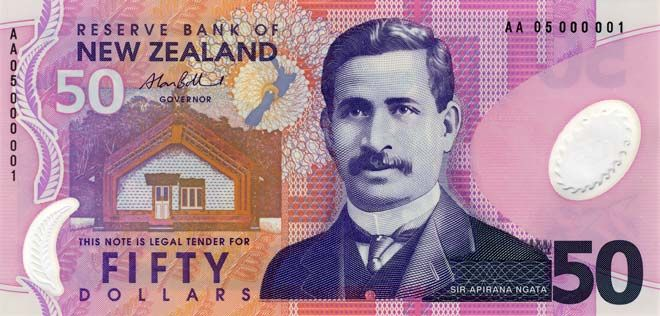 Fifth series of banknotes: $50 (With images) - Bank notes, New zealand dollar, New zealand