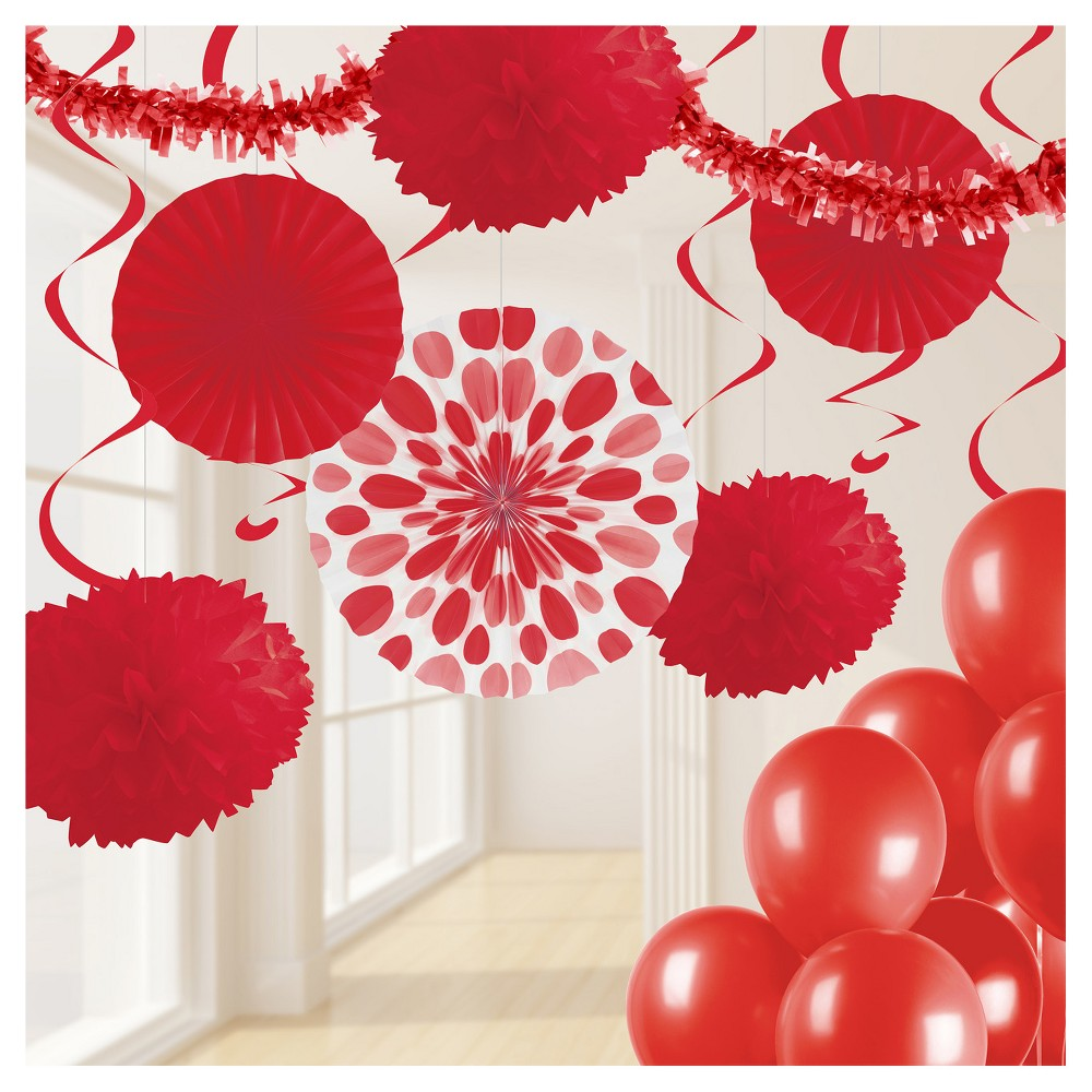 Classic red party decorations kit also decoration valentines day pinterest rh