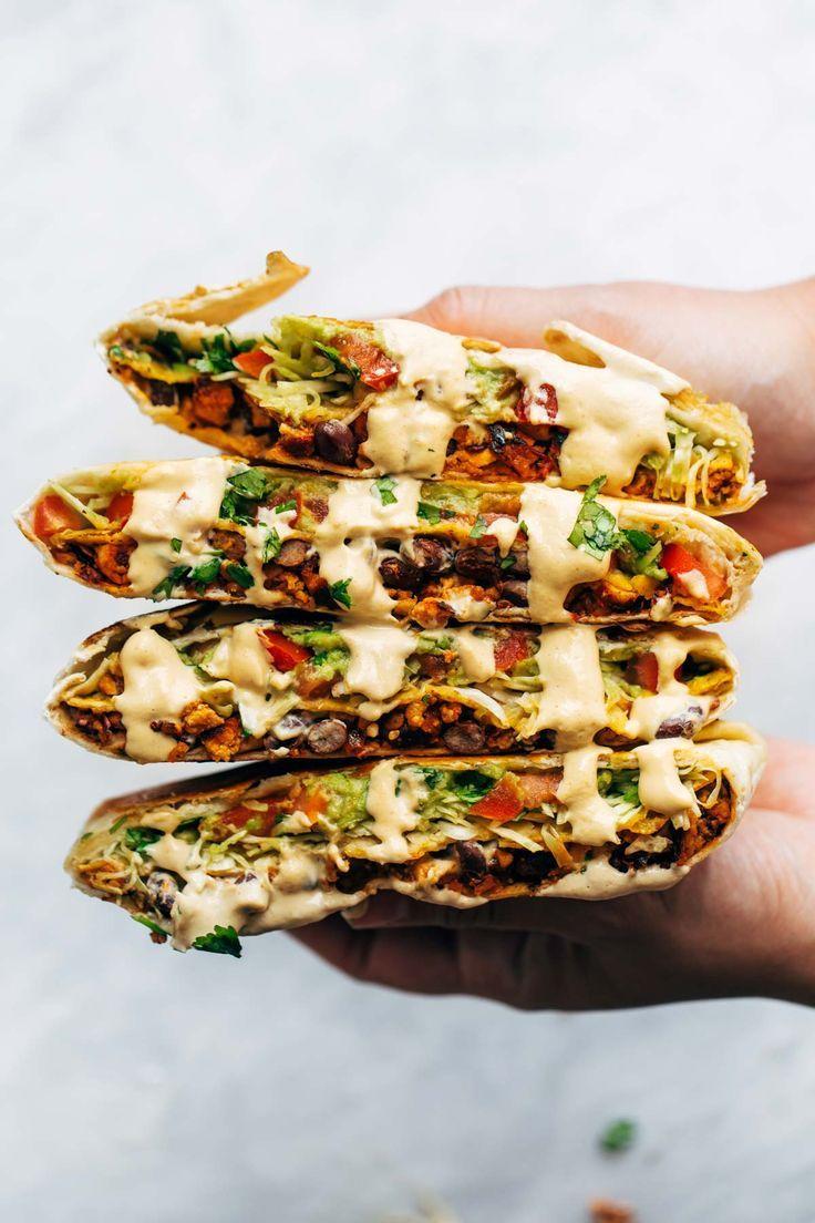 Vegan Crunchwrap Supreme #veganrecipes