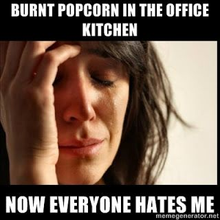 Burnt Popcorn Hahaha So My Boss Today Love Pinterest Funny
