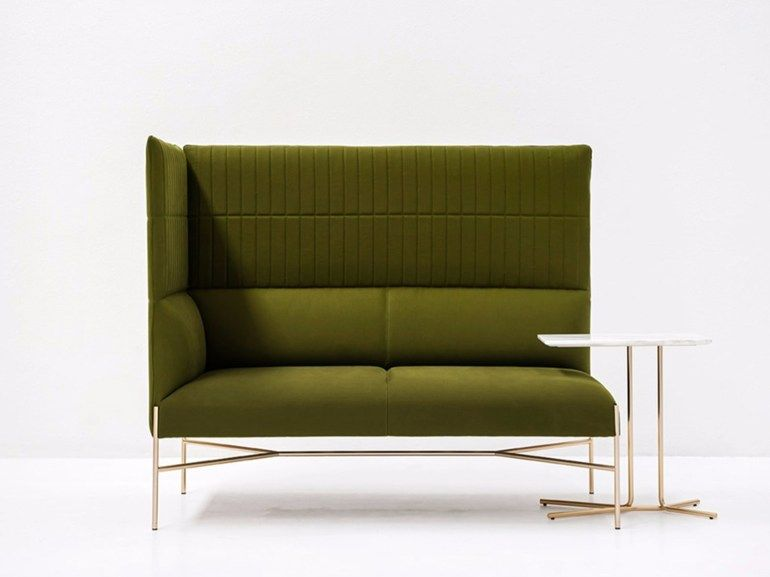 Corner Sectional High Back Fabric Sofa Chill Out High Corner