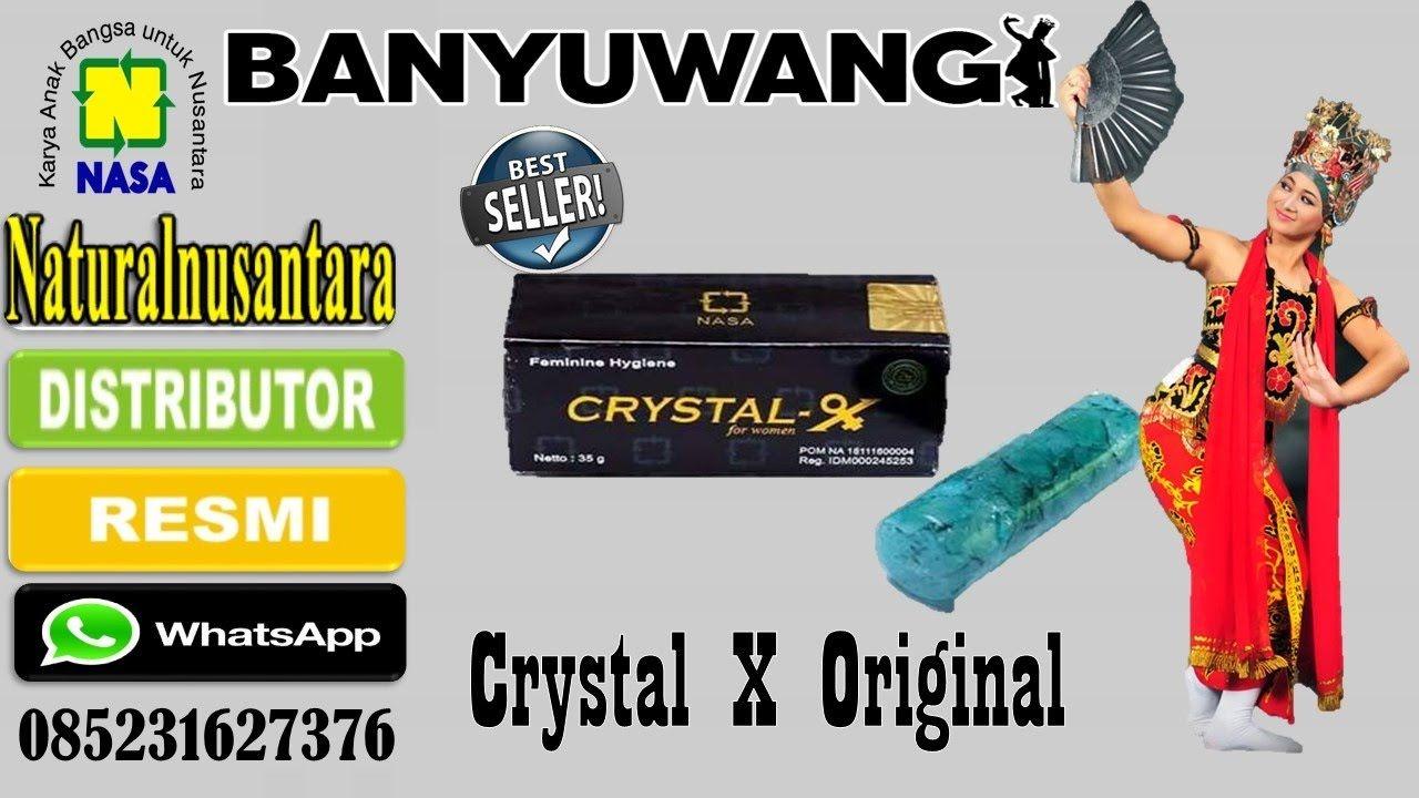 Manfaat Crystal X Nasa 085231627376 Asli Cristal Kristal Original Obat Herbal Keputihan Agen Banyuwangi Jatim