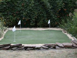 Building A Golf Putting Green Backyard