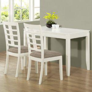 3 Piece Kitchen Table Chair Set  Httpdinhtrieu  Pinterest Endearing 3 Piece Kitchen Table Set Design Inspiration