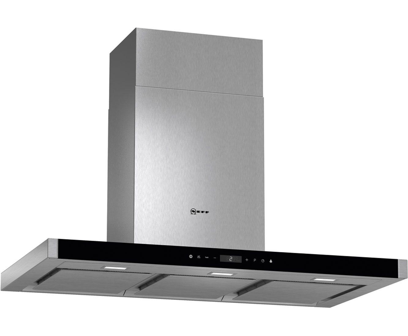 Neff n d mt n b cm chimney cooker hood stainless steel