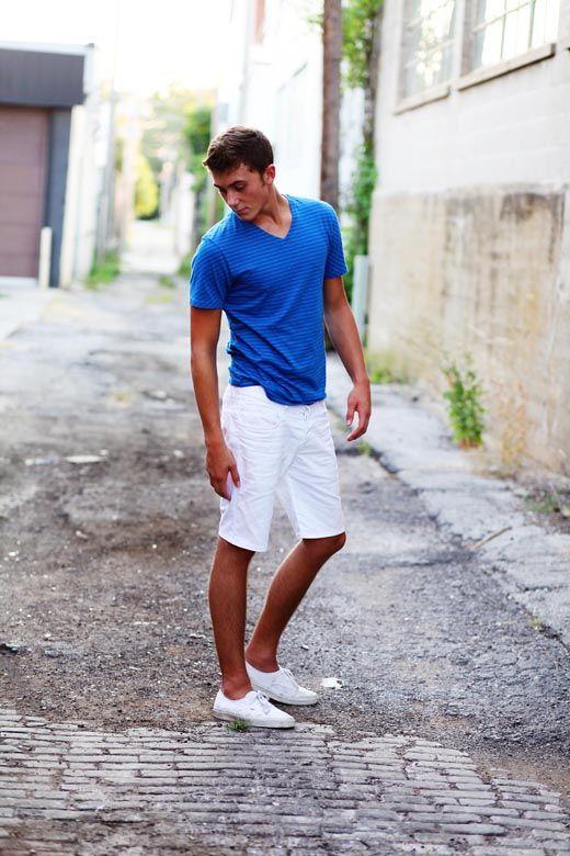 myself! Keds and white shorts