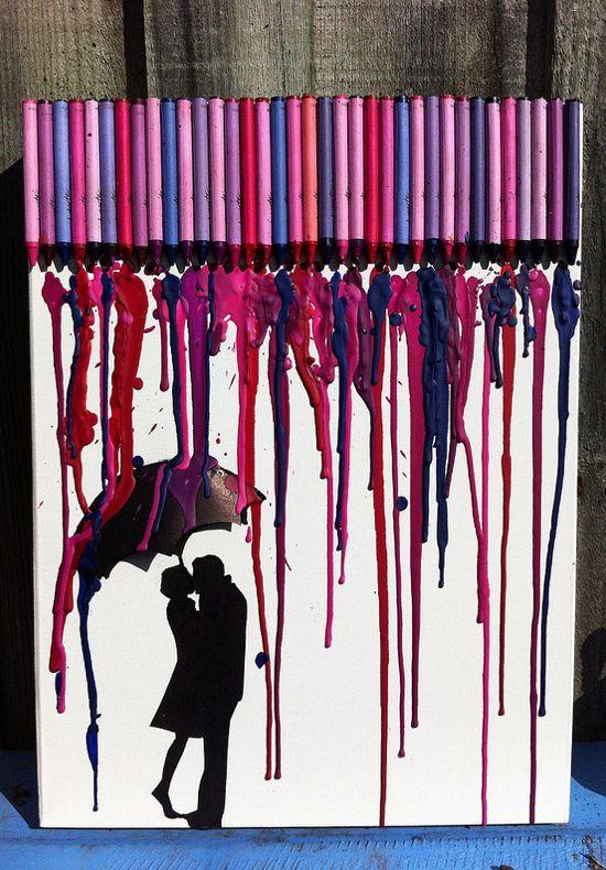 Crayon Art Idea