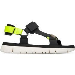 Photo of Camper Oruga, sandals men, black / yellow / gray, size 45 (eu), K100416-008 camper