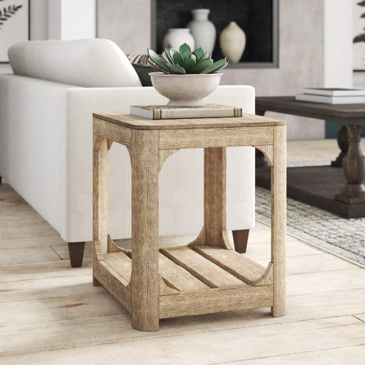 Beautiful Restoration Hardware Look Alike End Table For Less