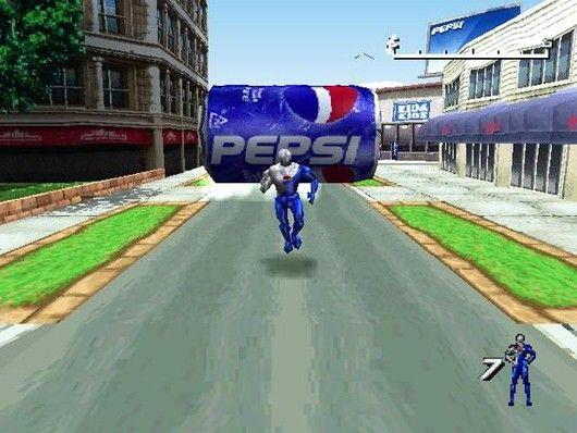 Stiq Figures July 16 22 Pepsiman Edition Pepsi Man Pepsi Video Games