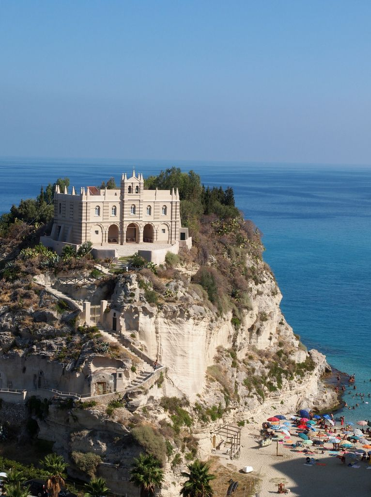 Santa Maria Dell Isola Tropea Calabria Italy Kalabrien Und