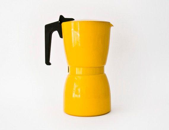 Fantastic Vintage Italian coffee maker Stove top di ilivevintage,