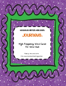 Journeys first grade high frequency word wall cards large version journeys first grade high frequency word wall cards fandeluxe Image collections