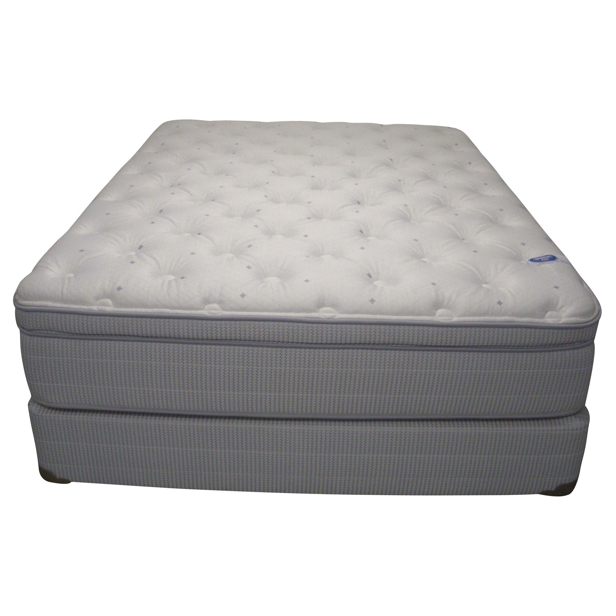 Spring Air Value Addison Euro Top Queen size Mattress Set General