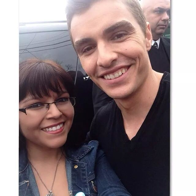 Me and the very handsome dave franco i was the happiest person me and the very handsome dave franco i was the happiest person in the world when i met him hes even cuter in person gotta meet him again m4hsunfo