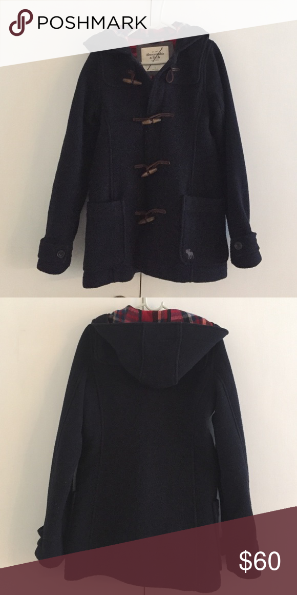 A&F wool coat Great condition! 62%wool. Super warm. There is a mark across the brand tag because I got it at Tj max. Hate to sell it but it's too big on me! Abercrombie & Fitch Jackets & Coats Pea Coats
