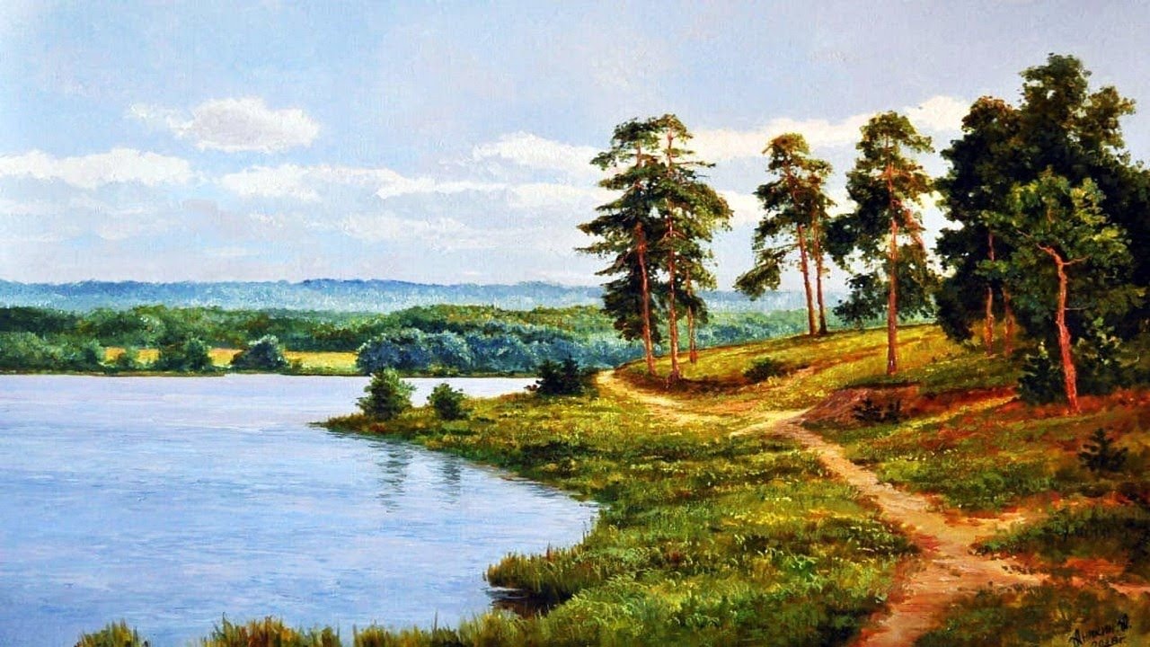 Roskosh Pejzazhej Srednej Polosy Rossii Ot Alekseya Anikina