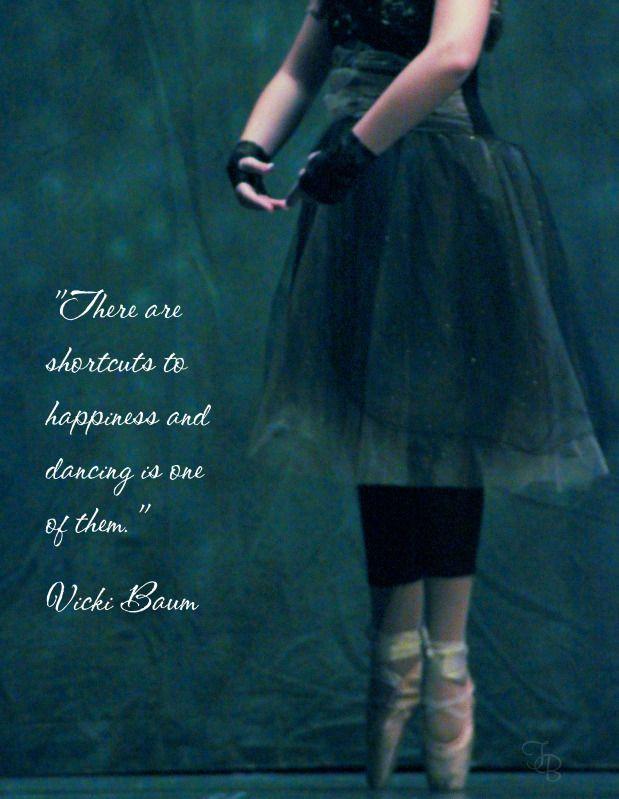 dance = happiness