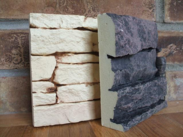 Interior Wall Covering Ideas. Faux Stone ...
