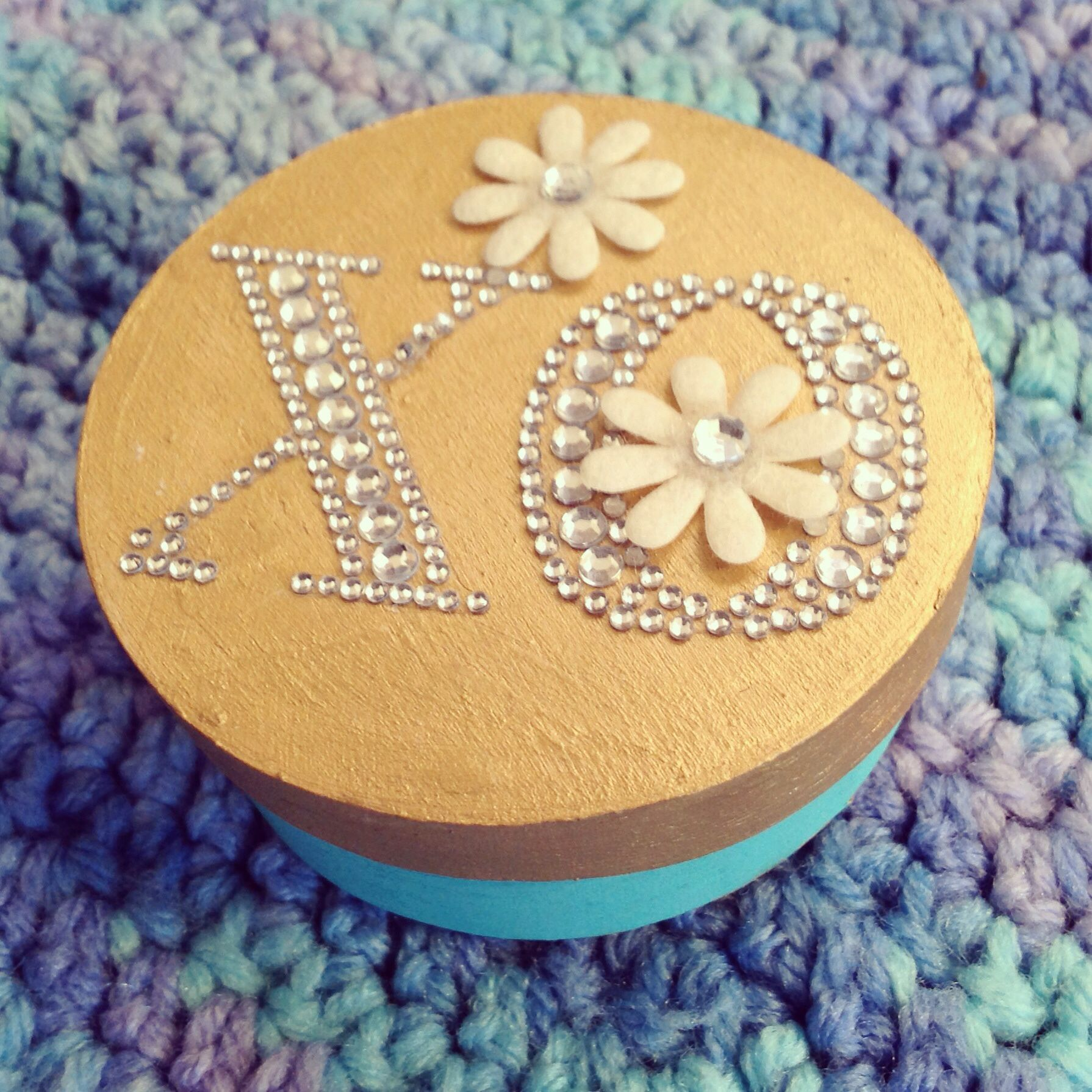 Xo Valentine crafting jewelry boxes