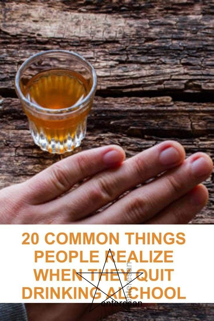 20 Common Things People Realize When They Quit Drinking Alcohol via Steven Aitchison | Entrepreneur | Blogger | Facebook Evangelist | Crypto Enthusias...