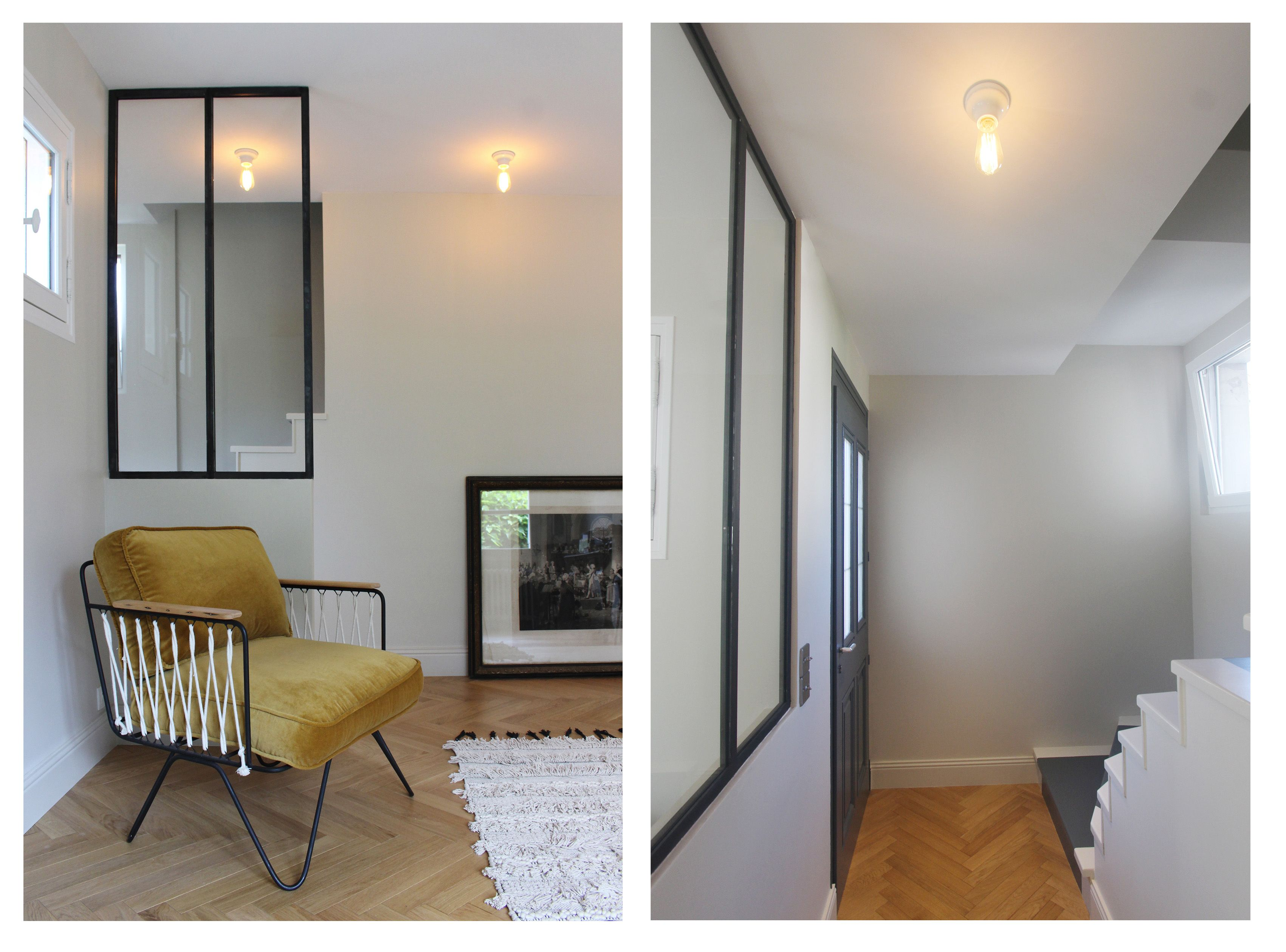 r novation d 39 une maison annecy par l 39 agence entrelesmurs entr e fauteuil honor. Black Bedroom Furniture Sets. Home Design Ideas