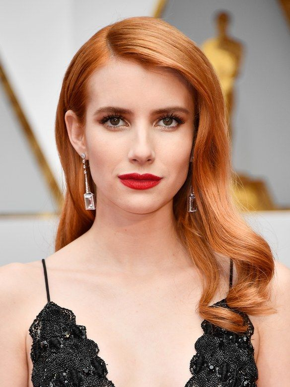 Emma Roberts's Hair Is a Much Deeper Red