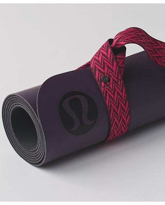 Loop It Up Mat Strap Women S Yoga Mats And Props Lululemon Athletica Yoga Mat Lululemon Yoga Mat Yoga Accessories