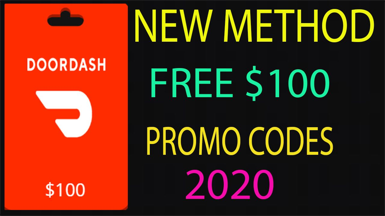 Free Dordash Promo Code Netflix Gift Card Xbox Gift Card Itunes Gift Cards