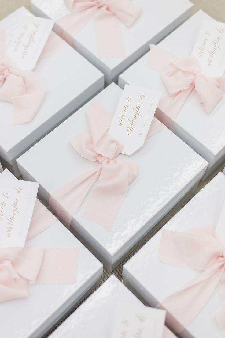 CUSTOM WEDDING WELCOME GIFTS Marigold & Grey creates artisan gifts ...