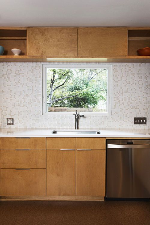 A Modern Kitchen Remodel In Austin Dwell Like This Tile