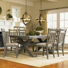 farmhouse style dining room - Google Search