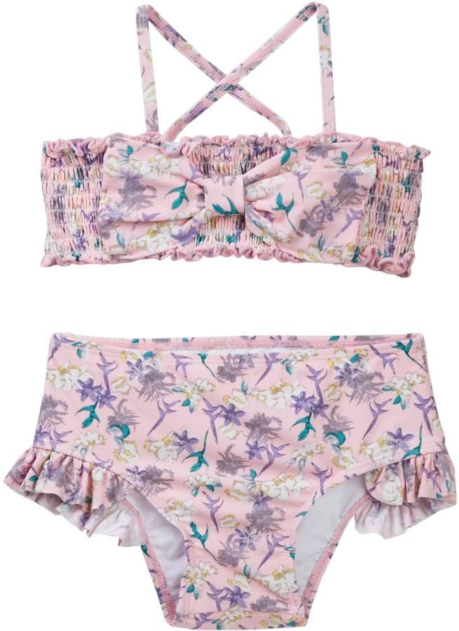 cefdac7d6a Jessica Simpson Strawberry Cream Floral 2-Piece Set (Toddler Girls) Summer Bathing  Suits