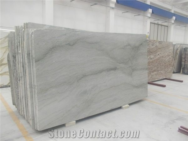 Polished Sea Pearl Quartzite Slabs U0026 Tiles,Brazil White Quartzite Floor Tile