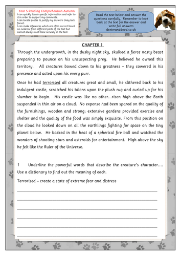 33+ Year 5 reading comprehension worksheets Top