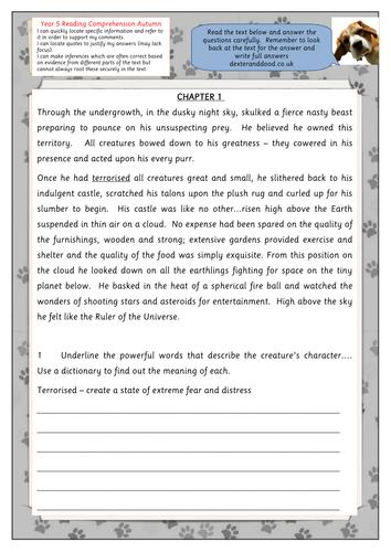 30++ Level 5 reading comprehension worksheets Popular