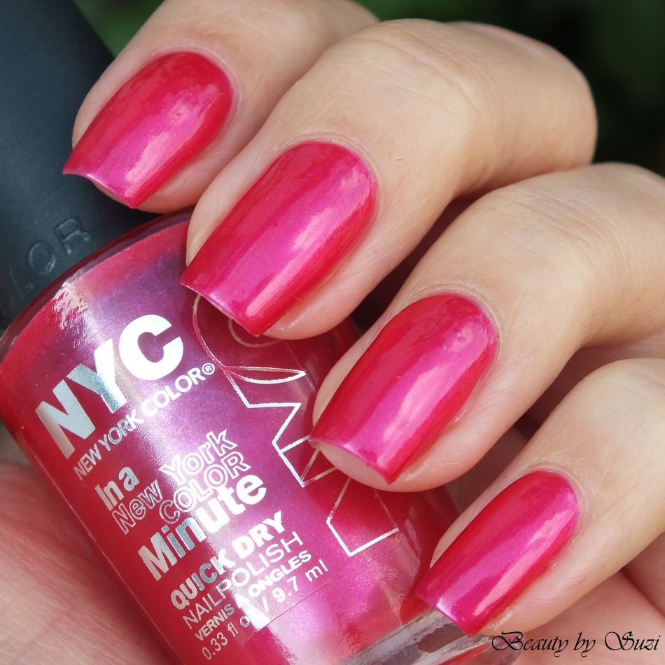 NYC In New York Color Quick Dry Nail Polish, 240 Midtown | Nails ...