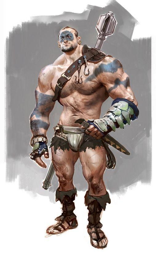 Brute Character Demo by wesburt - wesley burt - CGHUB