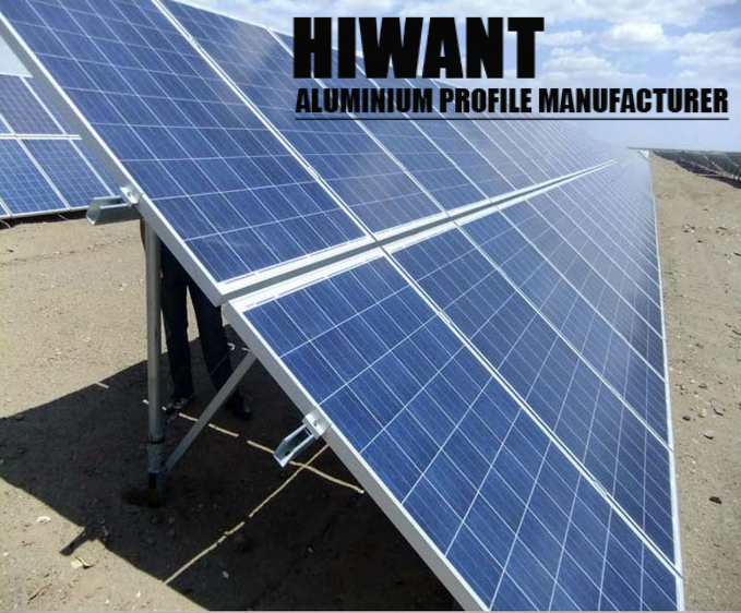 High quality customized different sizes solar alulminium mounting