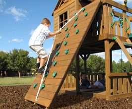 Creative Playthings Swing Set Accessories Pinnacle Rock Climbing