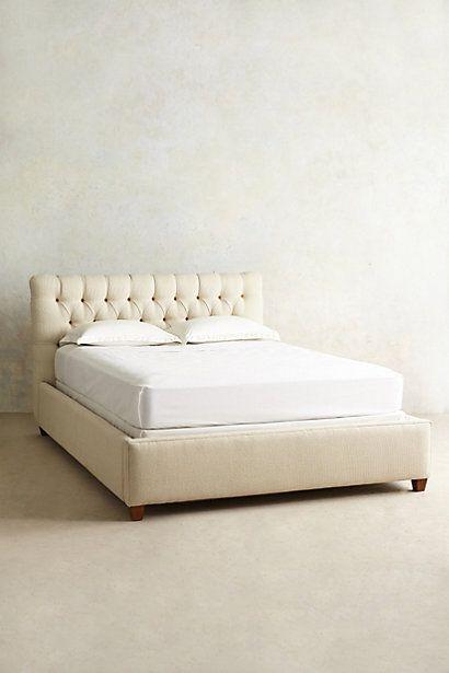 Leather Tufted Lena Bed | Dormitorio, Para el hogar y Ideas para