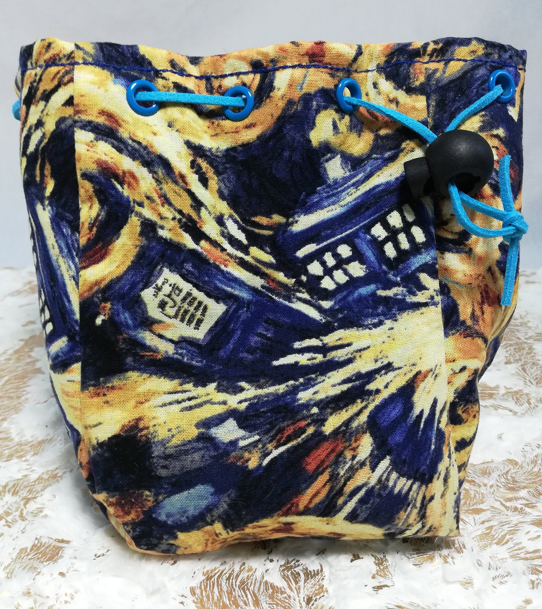 Dice Bag Marble Bag A Game of Drawstring Bags Cotton Drawstring Bag Drawstring Pouch