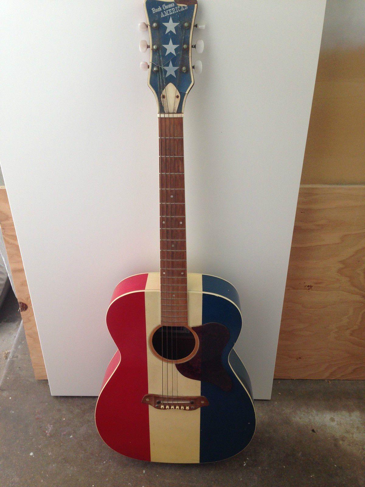 Buck Owens Harmony Sears American Guitar Cool Stuff Pinterest