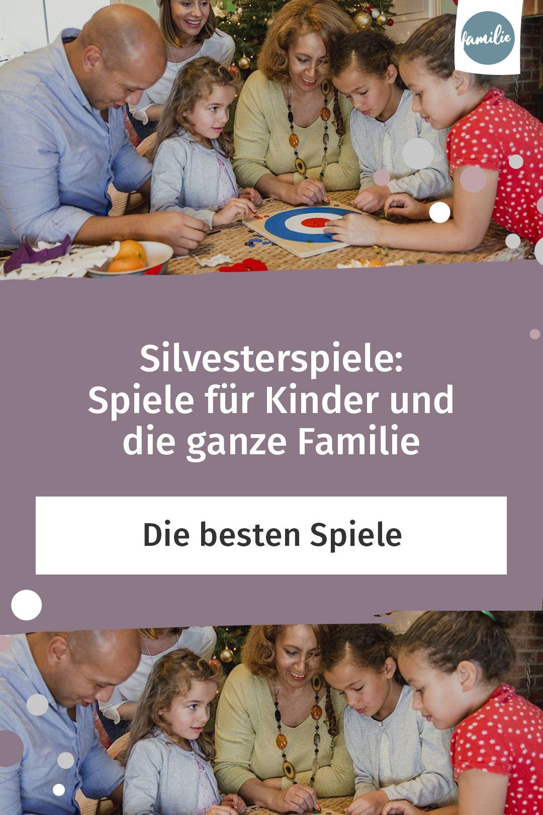 Silvester Spiele Familie