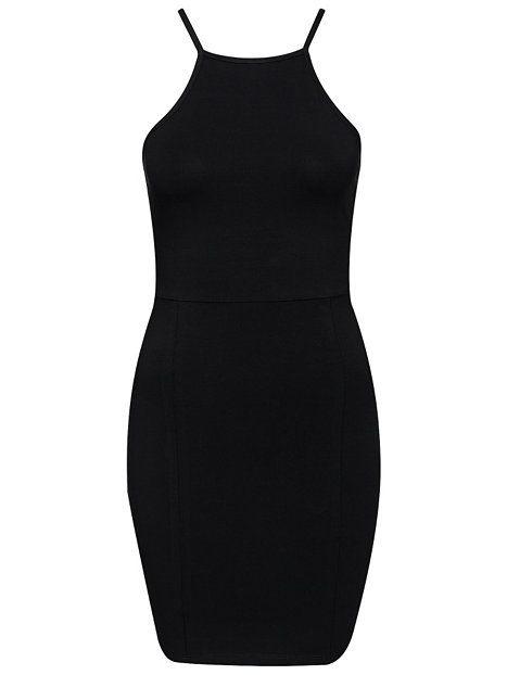 High Neckline Dress - Nly Trend - Sort - Kjoler - Tøj - Kvinde - Nelly.com